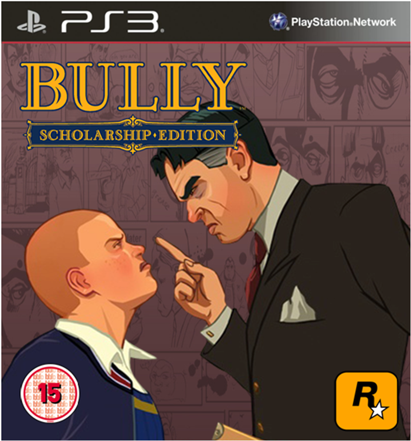 Bully Scholarship Edition PS3 Cover 1 by TheCoverUploader ...