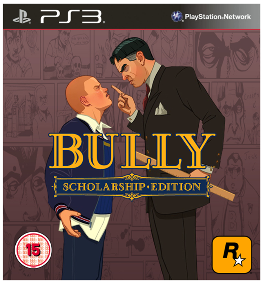 Bully Scholarship Edition PS3 Cover 3 by TheCoverUploader ...