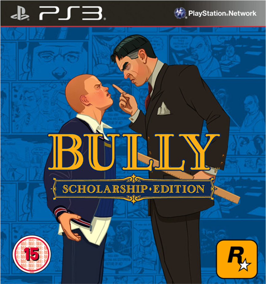 Bully Scholarship Edition PS3 Cover 2 by TheCoverUploader ...