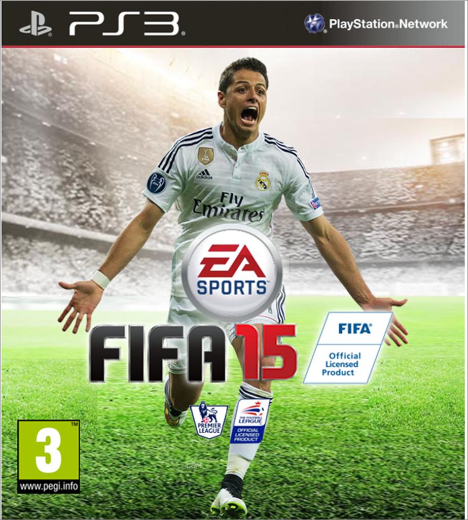 Javier Hernandez Real Madrid: Fifa 15 PS3 Javier Hernandez Real Madrid By