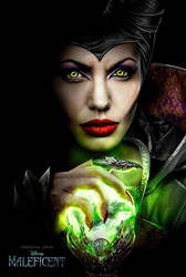 MAYBE FANMADE MALEFICENT TEASER POSTER by RetardMessiah