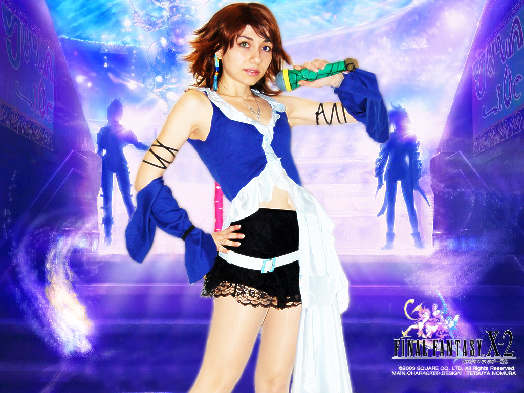 Yuna cosplay wallpaper by 14th division on deviantart - Yuna wallpaper ...