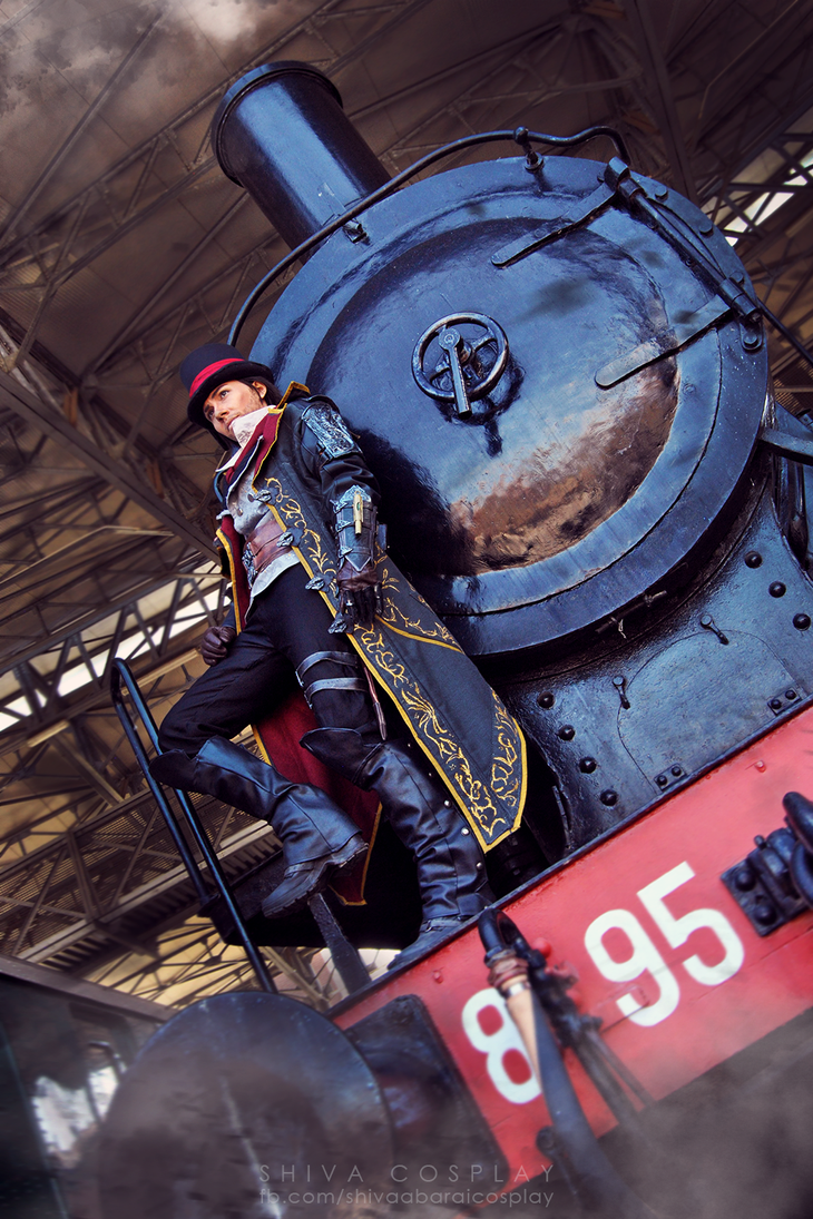 Jacob Frye cosplay Assassin's Creed Syndicate by 14th-division