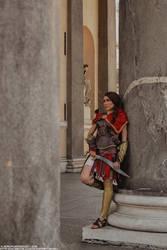 Kassandra cosplay from Assassin's Creed Odyssey