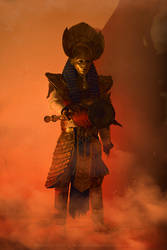 Rameses II cosplay from Assassin's Creed Origins