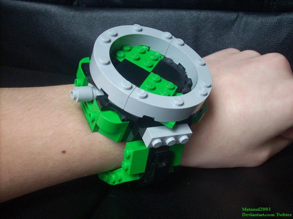 Lego Omnitrix Prototype by matanui2001