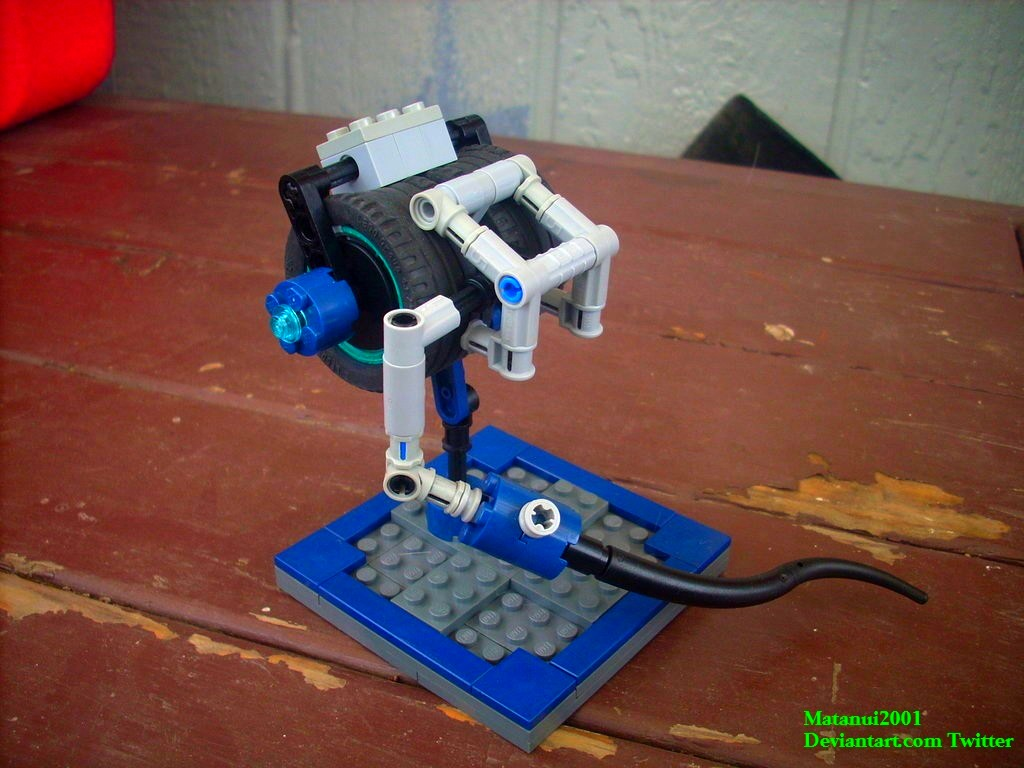 Lego Generator Rex Build #1: Blast Caster by matanui2001