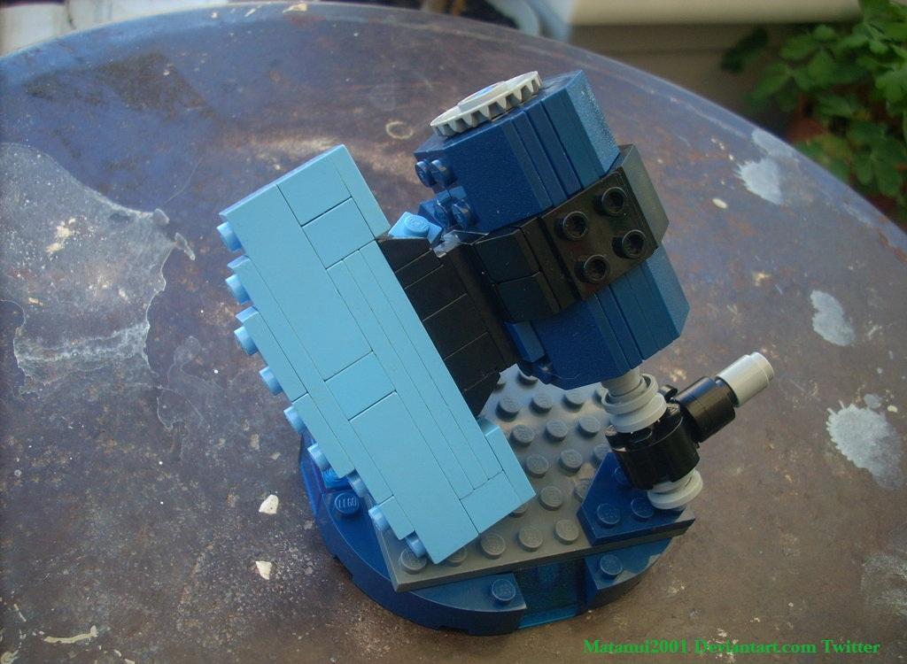 Generator Rex Build #2: Battle Axe by matanui2001