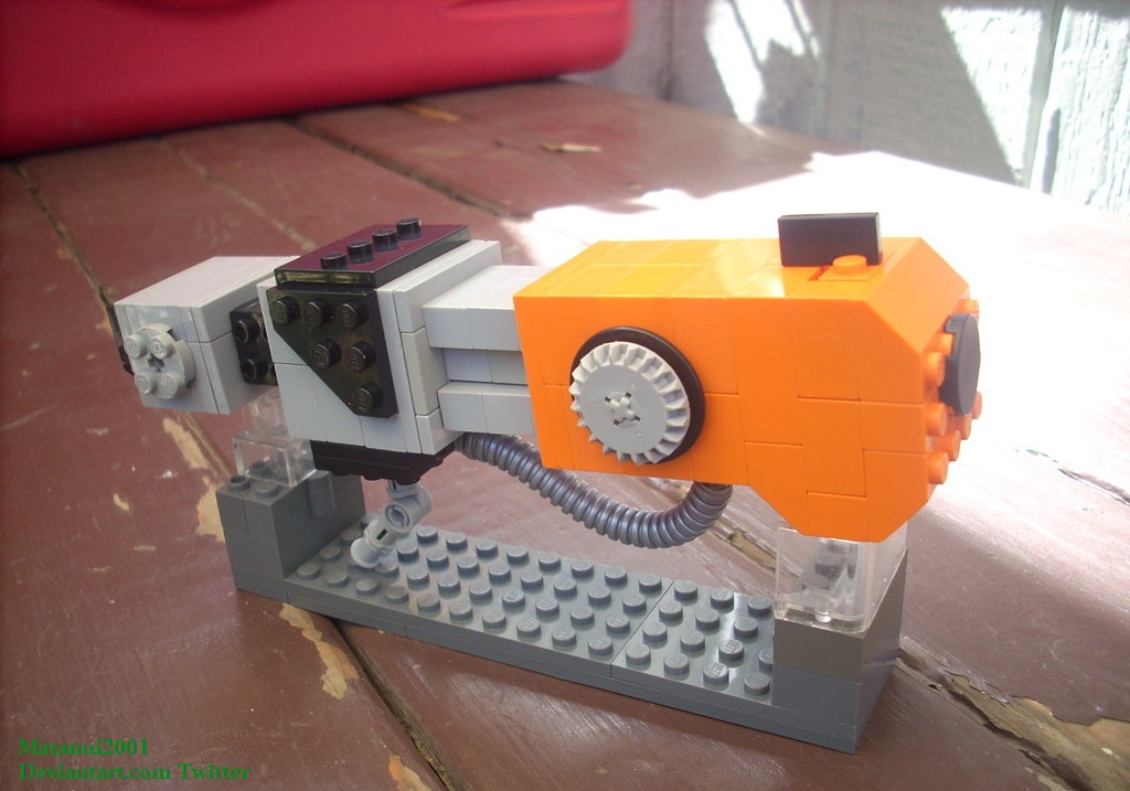 Generator Rex Build #3: Slam Cannon by matanui2001