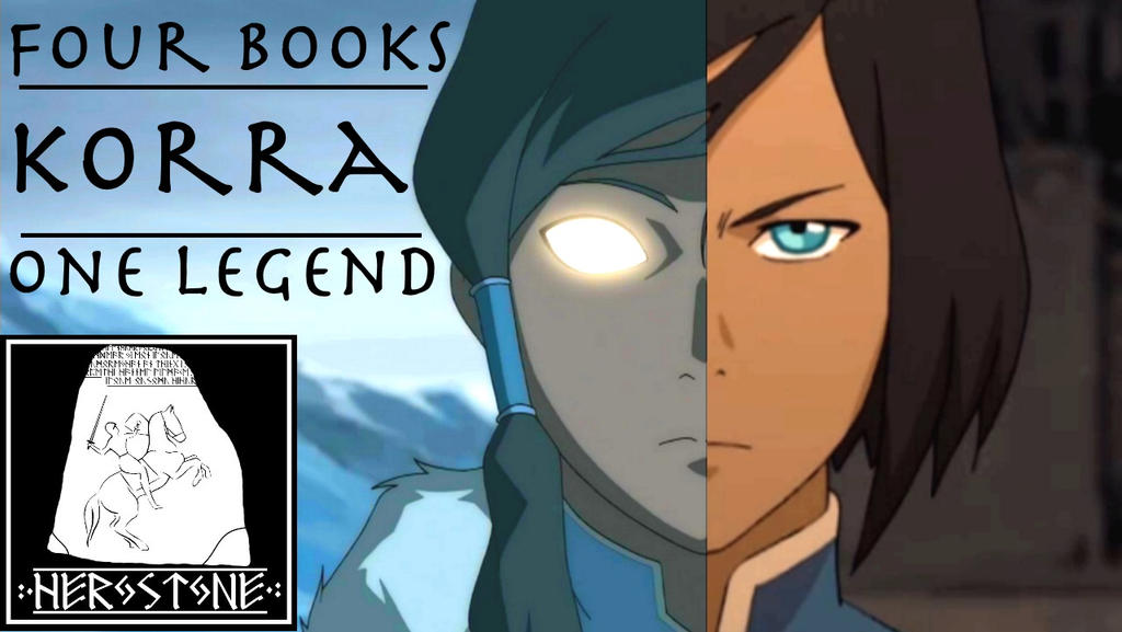 Herostone - Four Books, One Legend: Korra Tribute by matanui2001