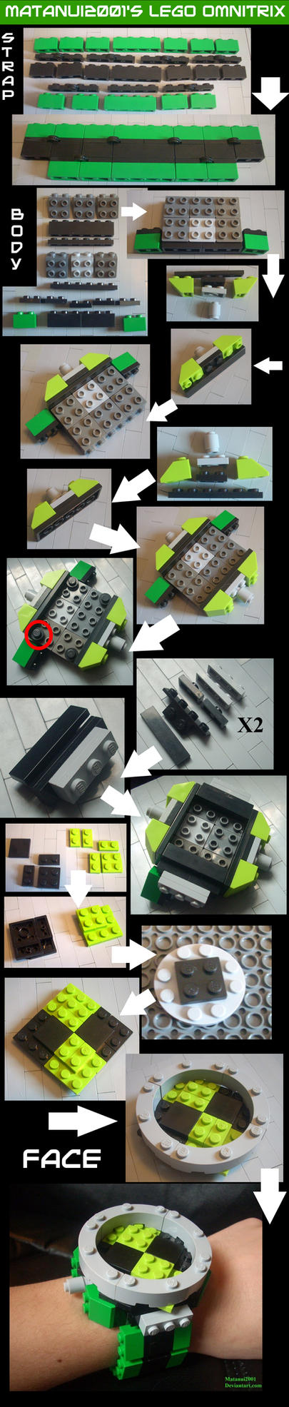 Lego Omnitrix Instructions by matanui2001