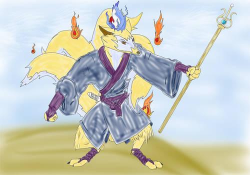 Kitsune Monk