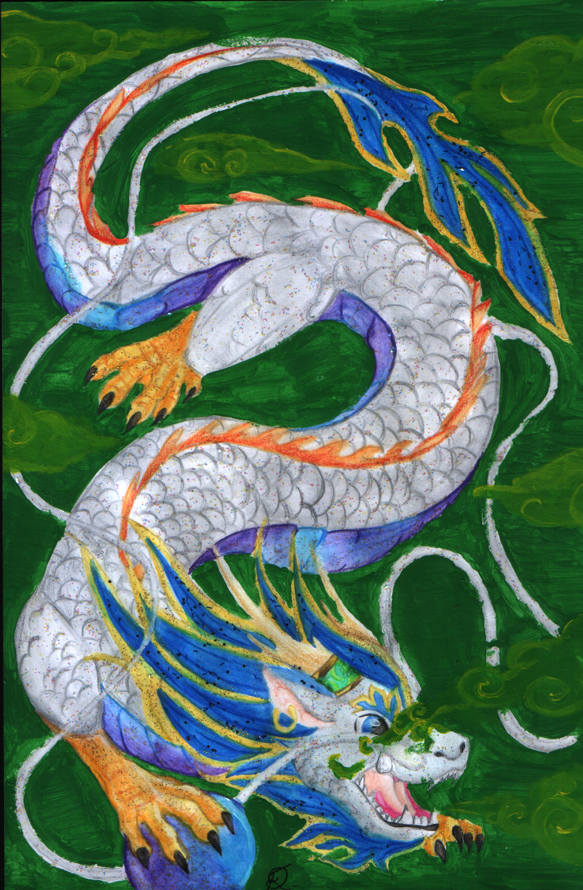 traditional Chinese Dragon by NovaFoxay on DeviantArt