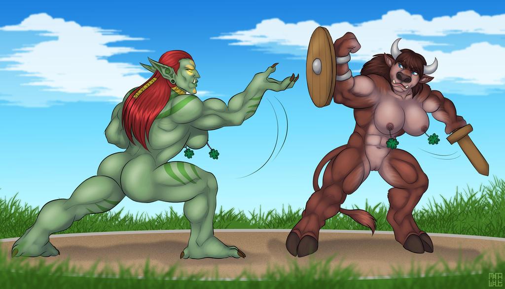 Shamrock Showdown part 2 by Darkblade2000us
