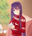 Eggnogy with tipsy Yuri
