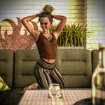 Outdoor lounge by Pizzaundbier