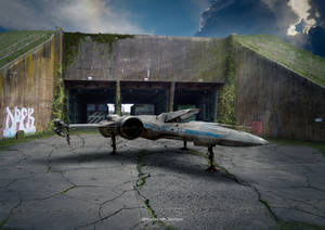 The Abandoned X Wing