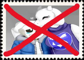 Anti-Soriel Stamp by kirby65422