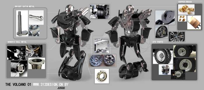 THE ROBOT - VOLCANLC