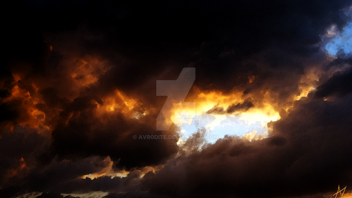 clouds of hell by Avrodite