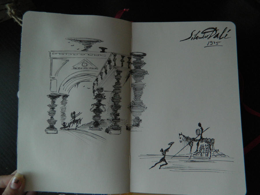 from  illustrations by Dali by ThoughtsMasturbation
