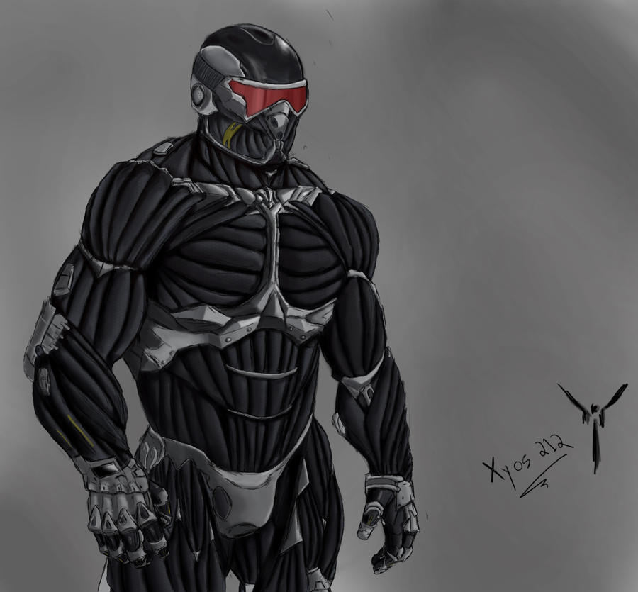 Nanosuit 2.0 Photoshop Drawing By Xyos212 On DeviantArt