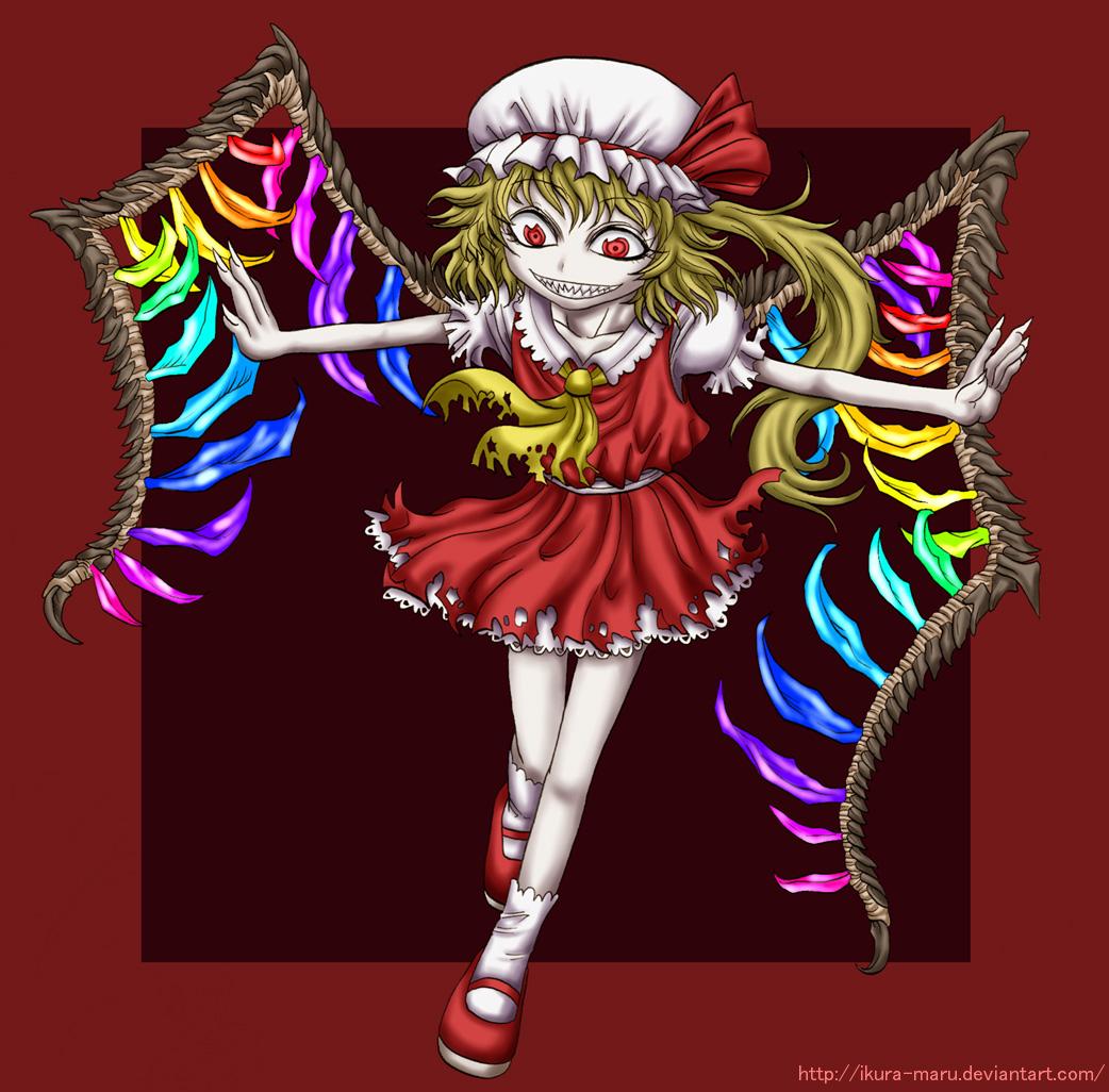 Flandre Scarlet by ikura-maru
