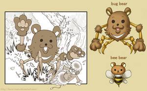 Attack of Bug Bear by ikura-maru
