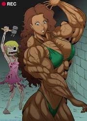 Zombie Attack by ikura-maru