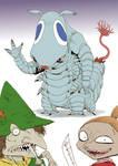 The monster Moomins