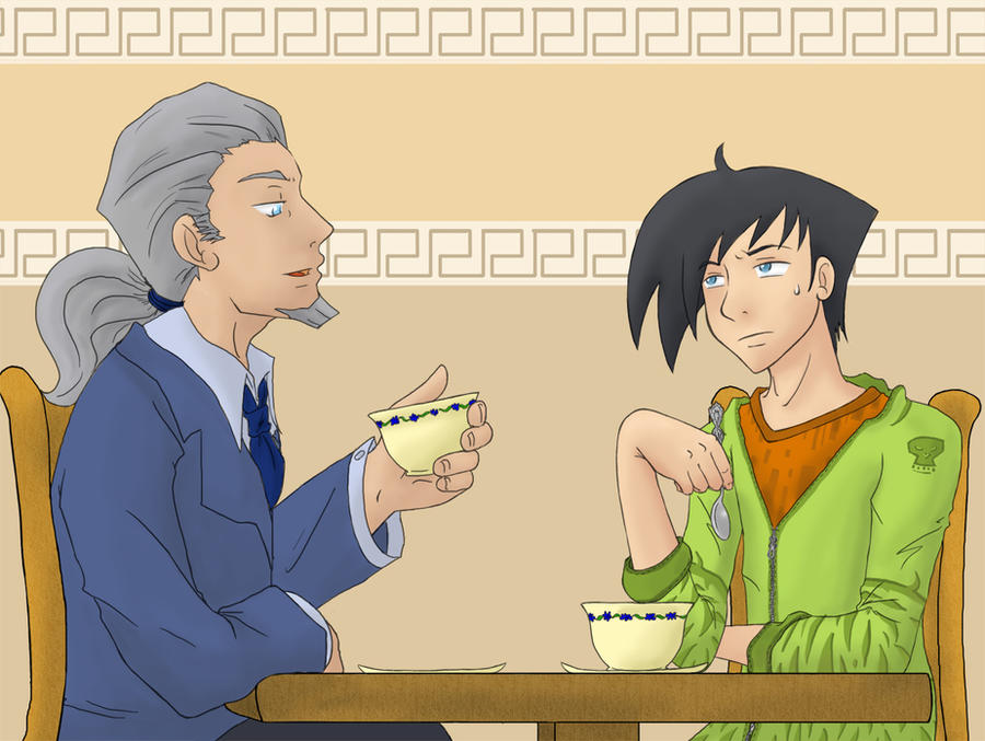 DP - Enjoying your Tea by MasterFranny