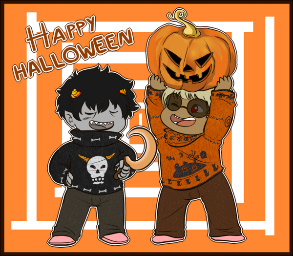 HS - Halloween!! by MasterFranny