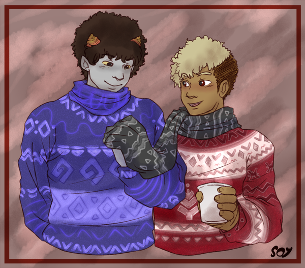 HS - Festive Sweaters! by MasterFranny