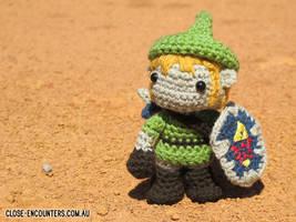 Amigurumi Link Legend of Zelda by Close-Encounters