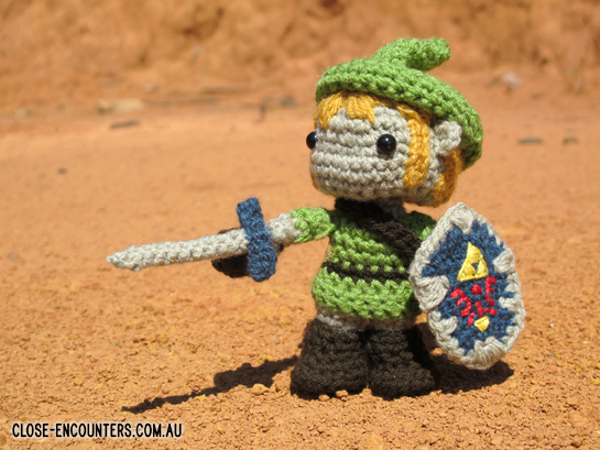 Amigurumi Link Legend of Zelda by Close-Encounters on ...
