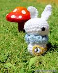Amigurumi White Rabbit Alice in Wonderland
