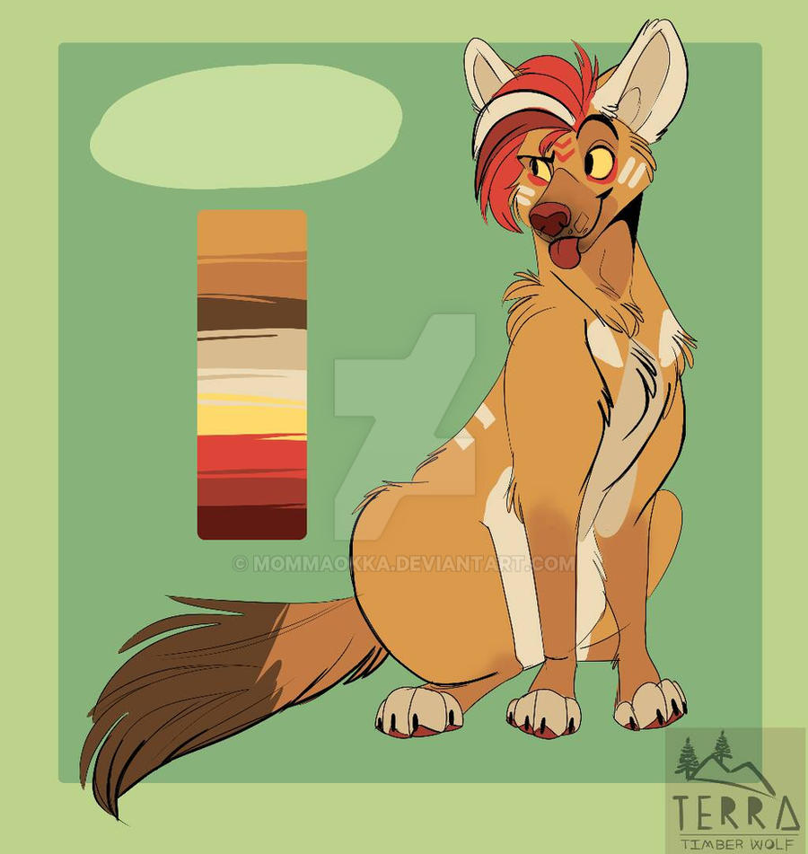 Dhole adopt by MommaOkka