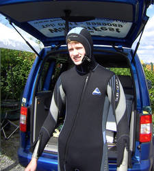 Me in Wetsuit for Diving