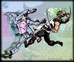 Cage VS Baraka (1st Tournament - MK9) by Cilab