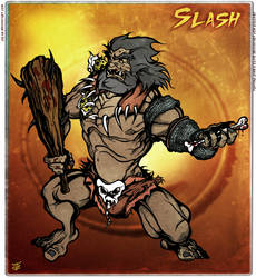 Slash (Eternal Champions) by Cilab