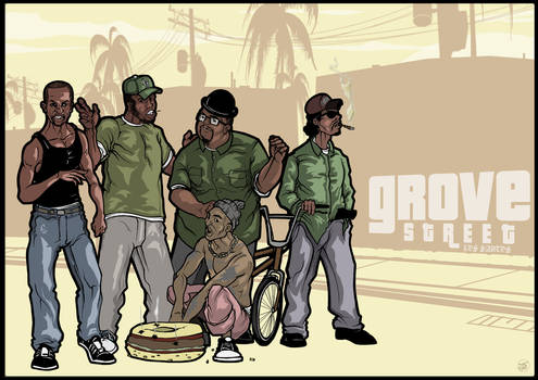 Original Grove Street - GTA SA