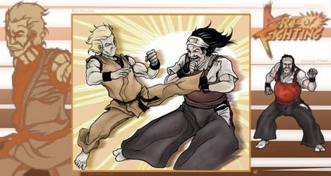 Art of Fighting - Fight 1