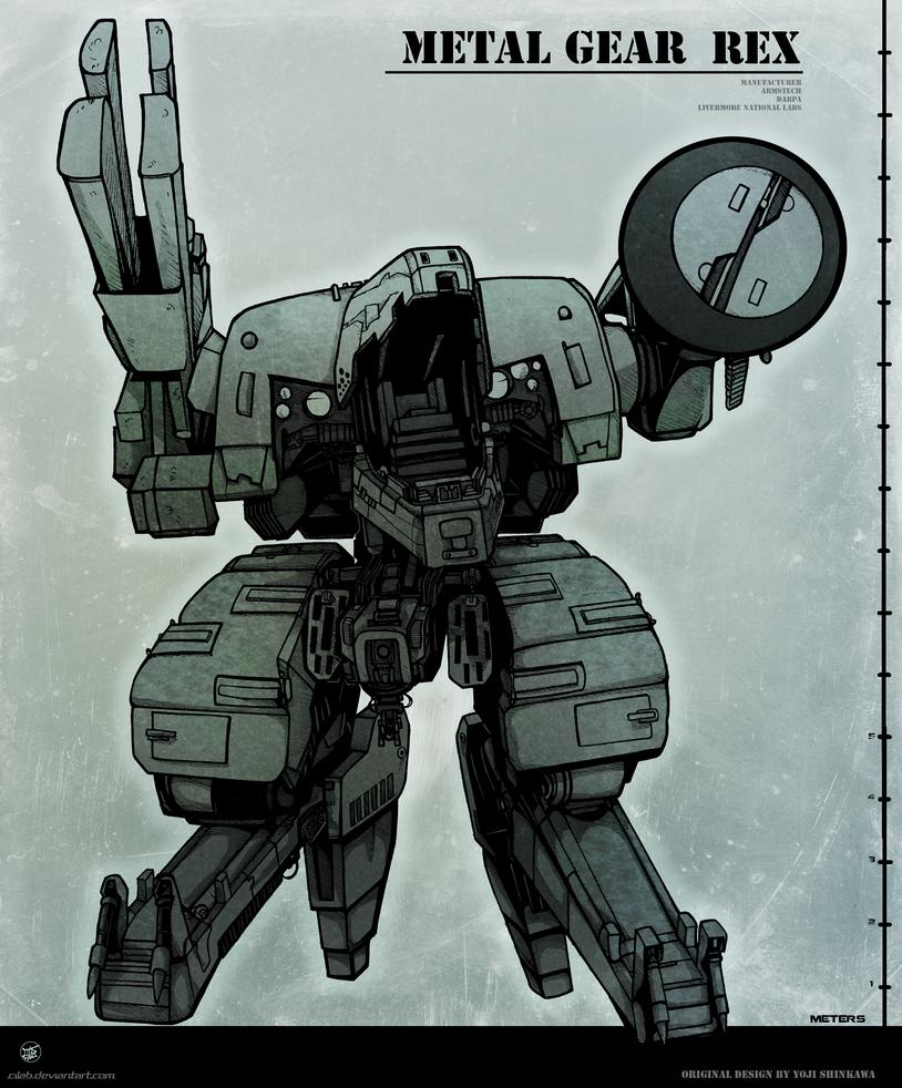 Rex - Metal Gear Solid by Cilab