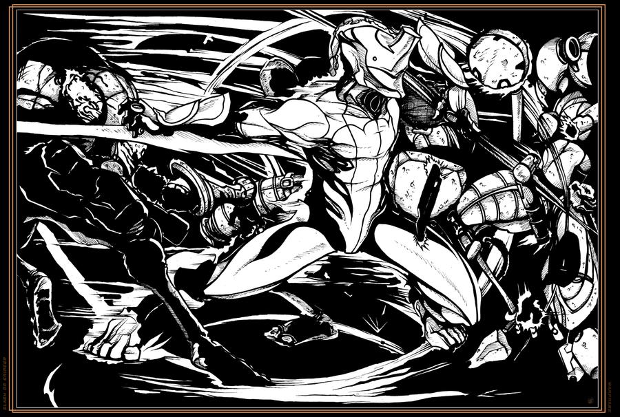 Slash on Grineer I - Warframe by Cilab