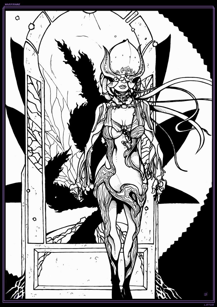 Lotus I Inks - Warframe by Cilab