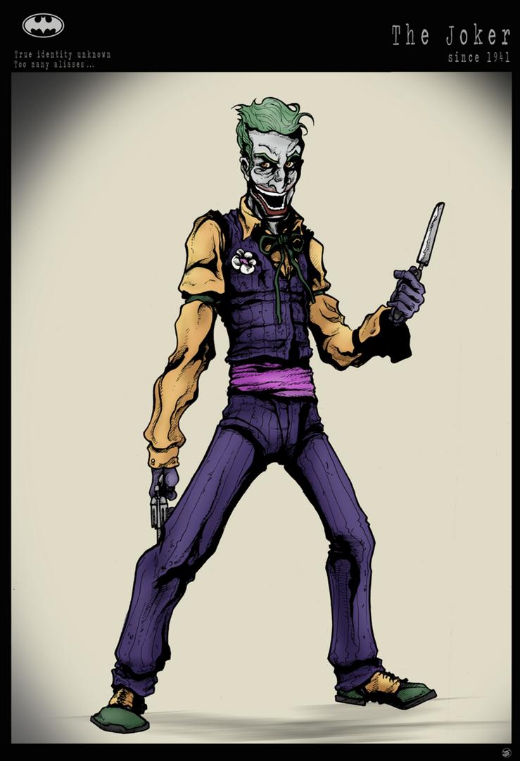Joker - DC by Cilab