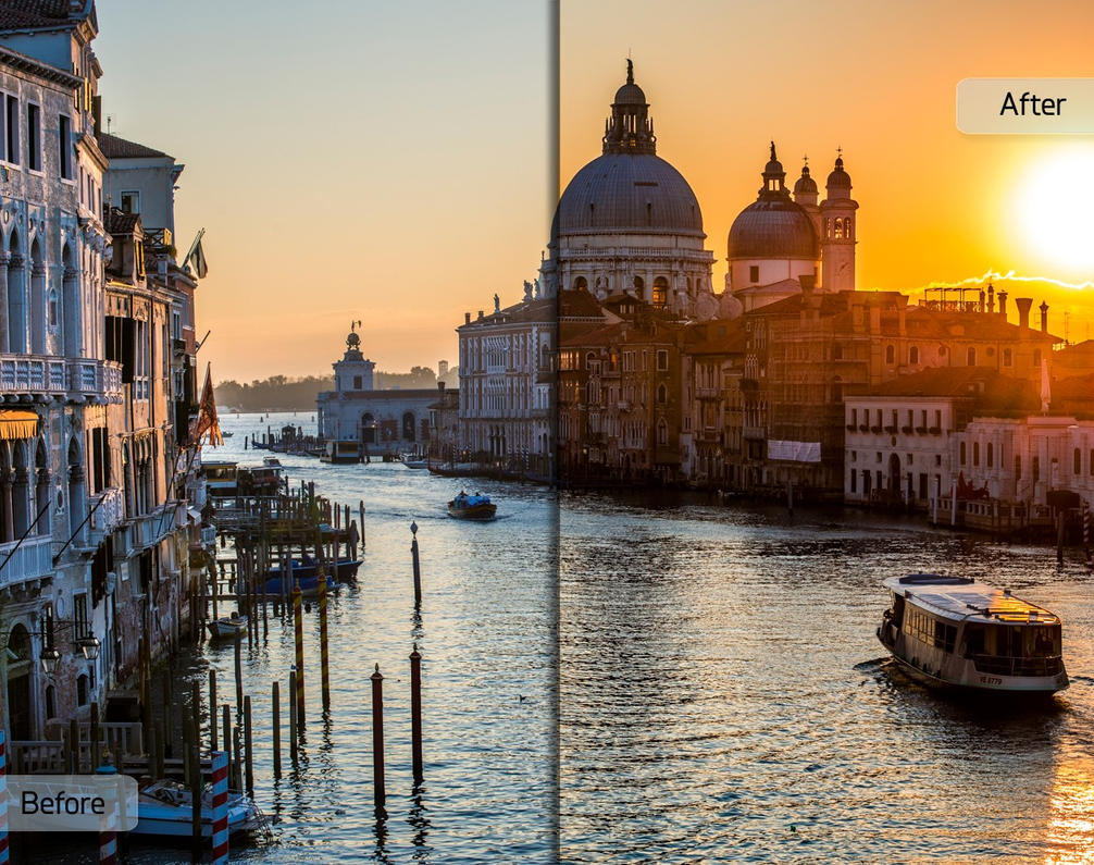 Brick and Mortar Workflow - Venice by Sleeklens