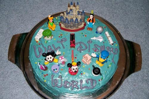 Disney World Cake by twasbrillig12 on DeviantArt