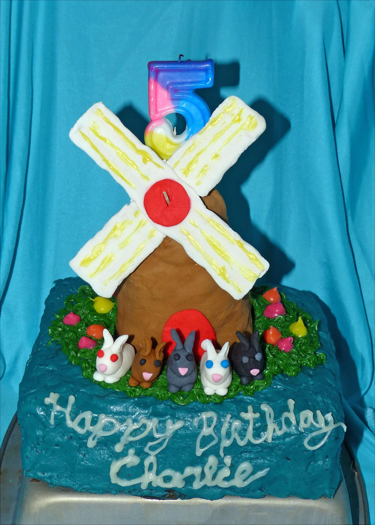 How To Make A Windmill Cake