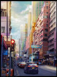 The HongKong street